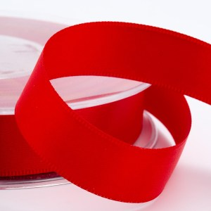 Red Satin Ribbon