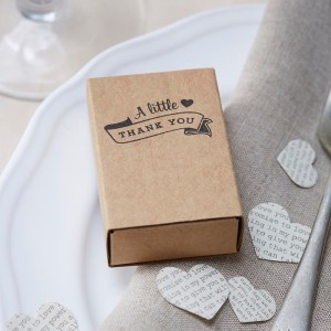 Matchbox Favour Boxes