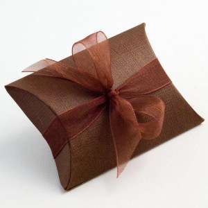 Brown Favour Boxes