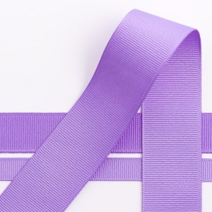 10mm Lilac Grosgrain Ribbon 10M