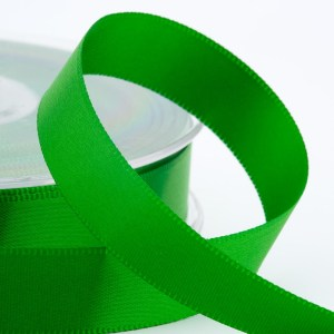 3mm Emerald Green Satin Ribbon 50M