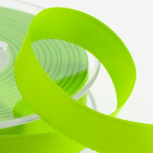 3mm Lime Satin Ribbon 50M