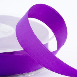 3mm Purple Satin Ribbon 50M