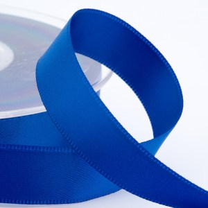 3mm Royal Blue Satin Ribbon 50M