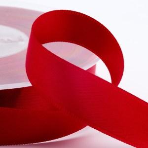 3mm Ruby Satin Ribbon 50M