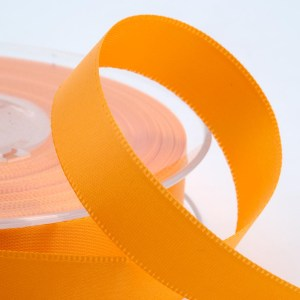 3mm Yellow Gold Satin Ribbon 50M