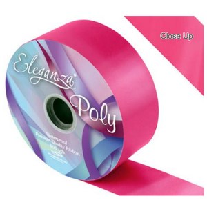 Deep Cerise Pink Car Ribbon
