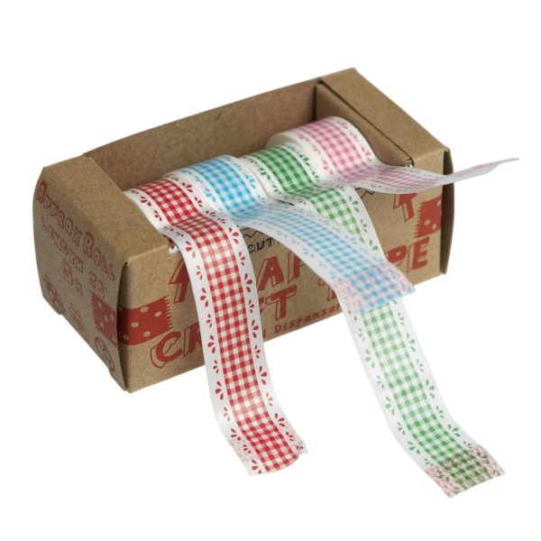 Gingham Lace Paper Washi Tape