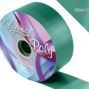 Emerald Green Wedding Car Ribbon