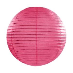 Hot Pink Paper Lanterns 14inch