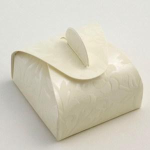 Ivory Diamante Mini Astuccio Favour Box