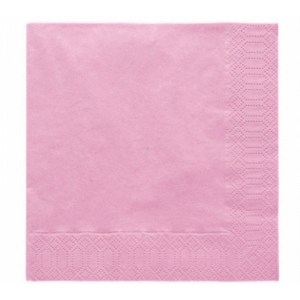 Pale Pink Party Napkins