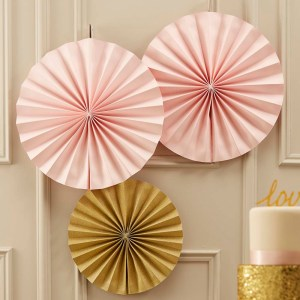 Gold Fan Pinwheel