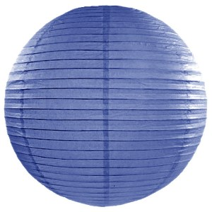 Royal Blue Paper Lanterns 18inch