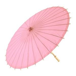 Paper Parasol - Pastel Pink