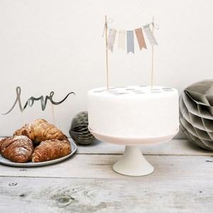 Elegant Cake Bunting