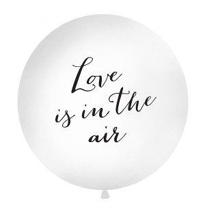 1 Metre 'Love is in the Air' Balloon