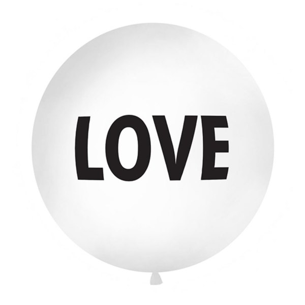 1 Metre Giant 'LOVE' Balloon