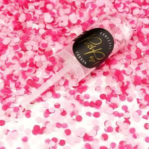 Pink Confetti Push Pops x 12