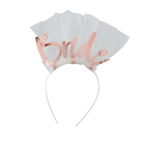 Bride to Be Headband Veil