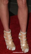 She loves a Statement Shoe. In Louboutins at LACMA in 2009.