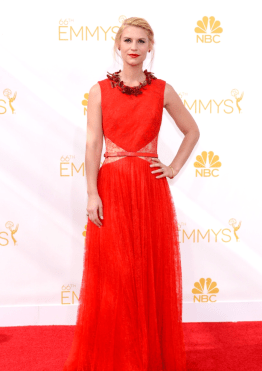 Red Trend at Emmys Red Carpet - Rachel Fawkes Style Expert
