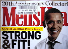 Barack Obama on the cover of 'Men's Health'