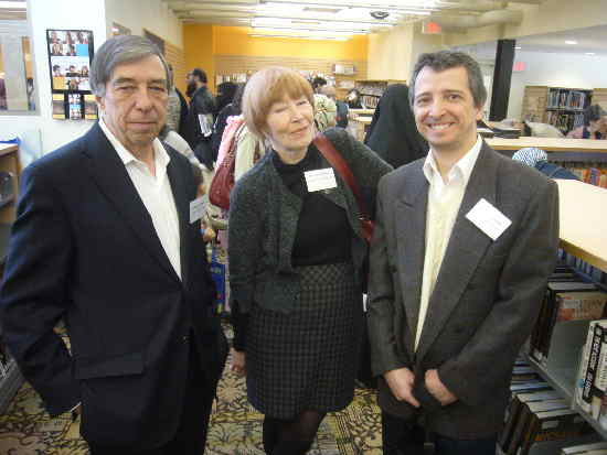 Phil Carter, Sheilagh Fletcher, Ricardo Linares