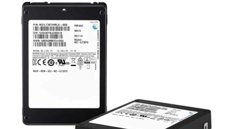 Samsung shows the world the biggest SSD with 30TB of space