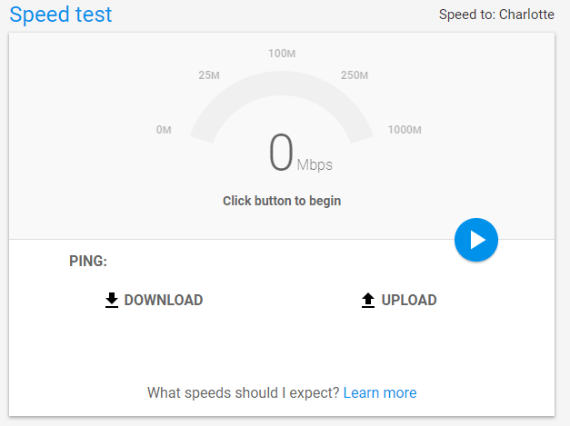 Google Speedtest - New Service from Google to test your ...