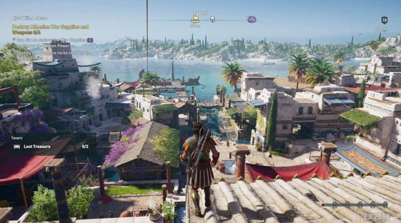 Assassin's Creed Odyssey: New Gameplay Trailer And More Info