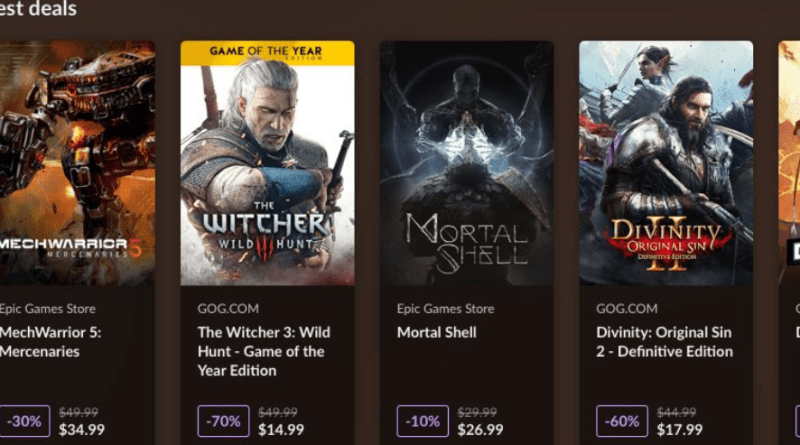 You can soon buy games from other stores directly in GOG Galaxy