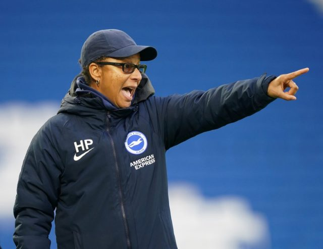'Every game we're striving to be better' says Brighton & Hove Albion boss Powell