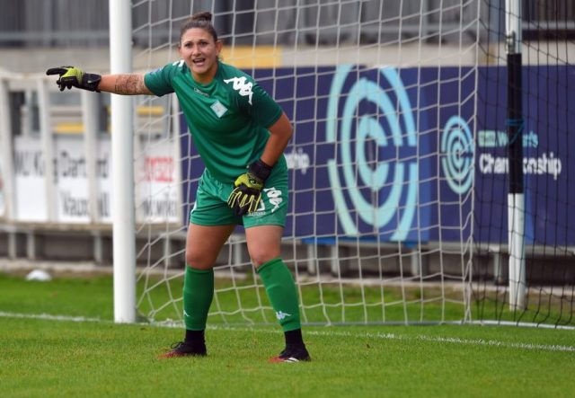 American goalkeeper Yanez settling well into life as a Lioness