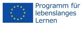 Logo EU Programm lebenslanges Lernen
