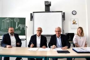 Berufliche Schule der FAWZ gGmbH_Vertrag mit FHM unterzeichnet_Mai 2019_12
