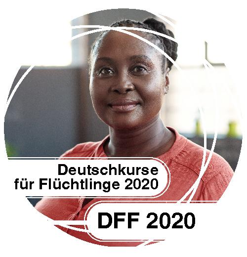 FAWZ_Button_Deutschkurse für Flüchtlinge 2020_DFF 2020