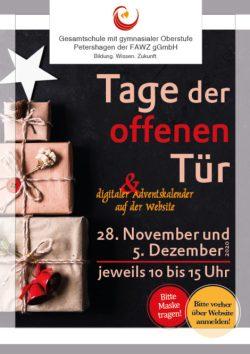 Gesamtschule Petershagen_Tage der offenen Tür November und Dezember 2020