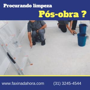 Limpeza Pós-Obra em BH-Belo Horizonte