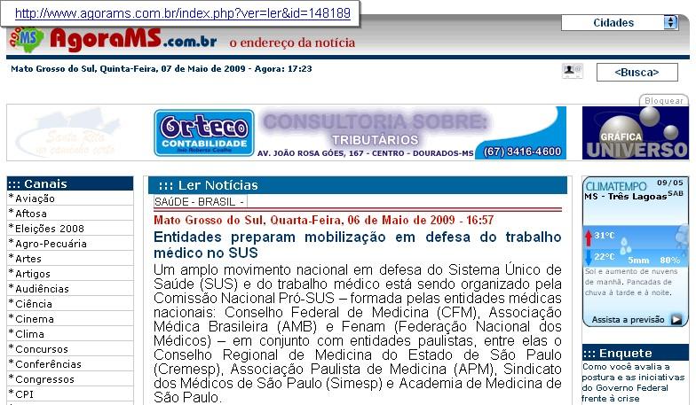 Evento, em São Paulo, mobilizará dirigentes de entidades médicas e congressistas.