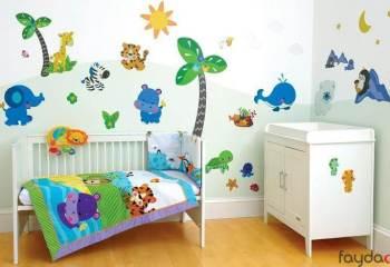Çocuk Odası Süsleme için 5 Harika Öneri
