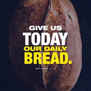 Plan Ahead or Daily Bread?