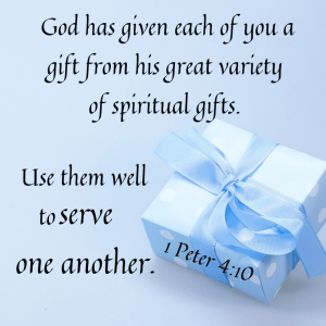 What's your spiritual gift?