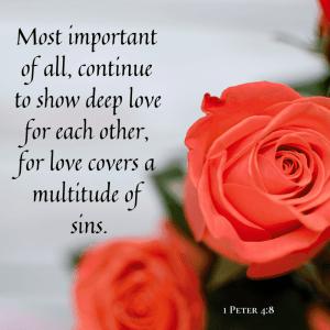 Love includes confrontation.