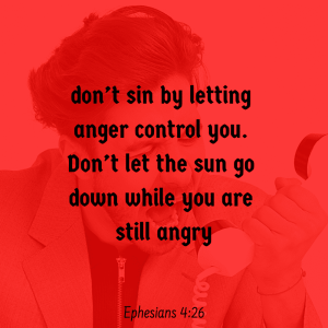 Whoever controls your anger controls you.