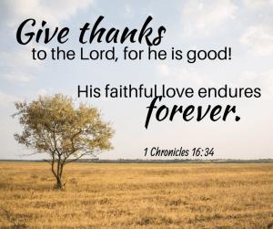 God's love endures everything