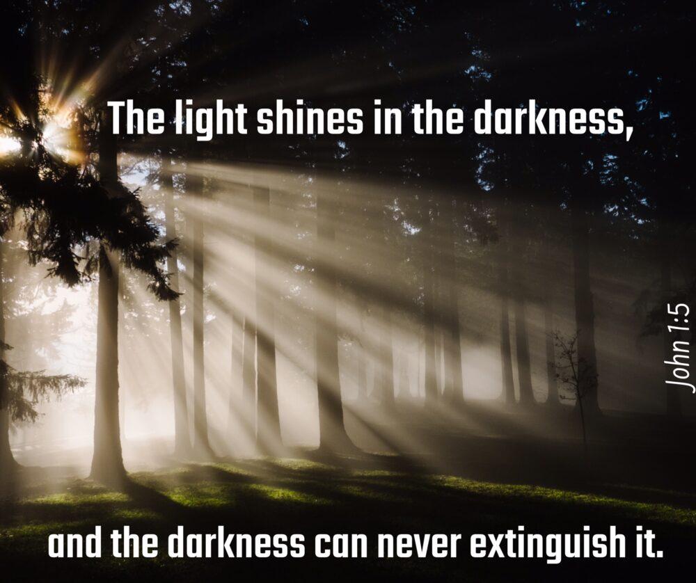 Light > Darkness … Always