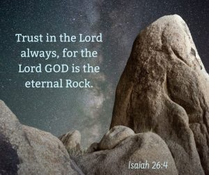 Are you SURE you trust in the Lord?