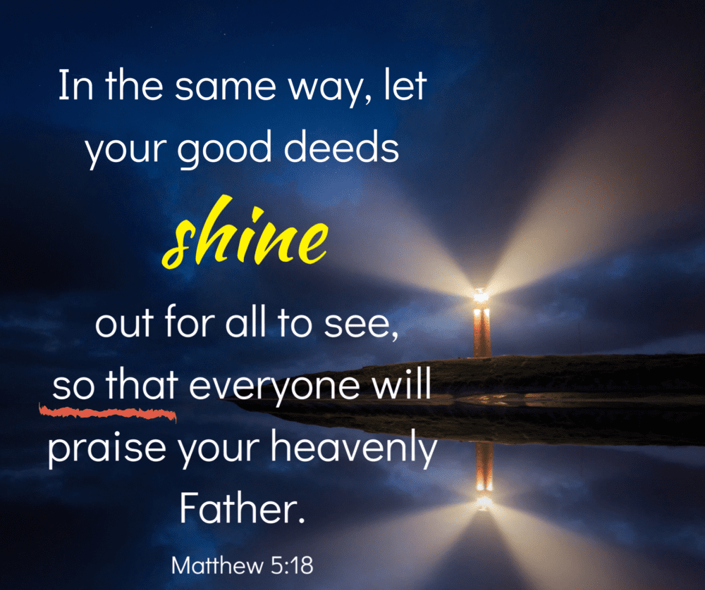 Why do good deeds?