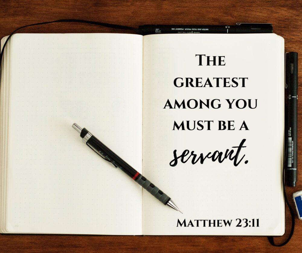 Leaders as servants?